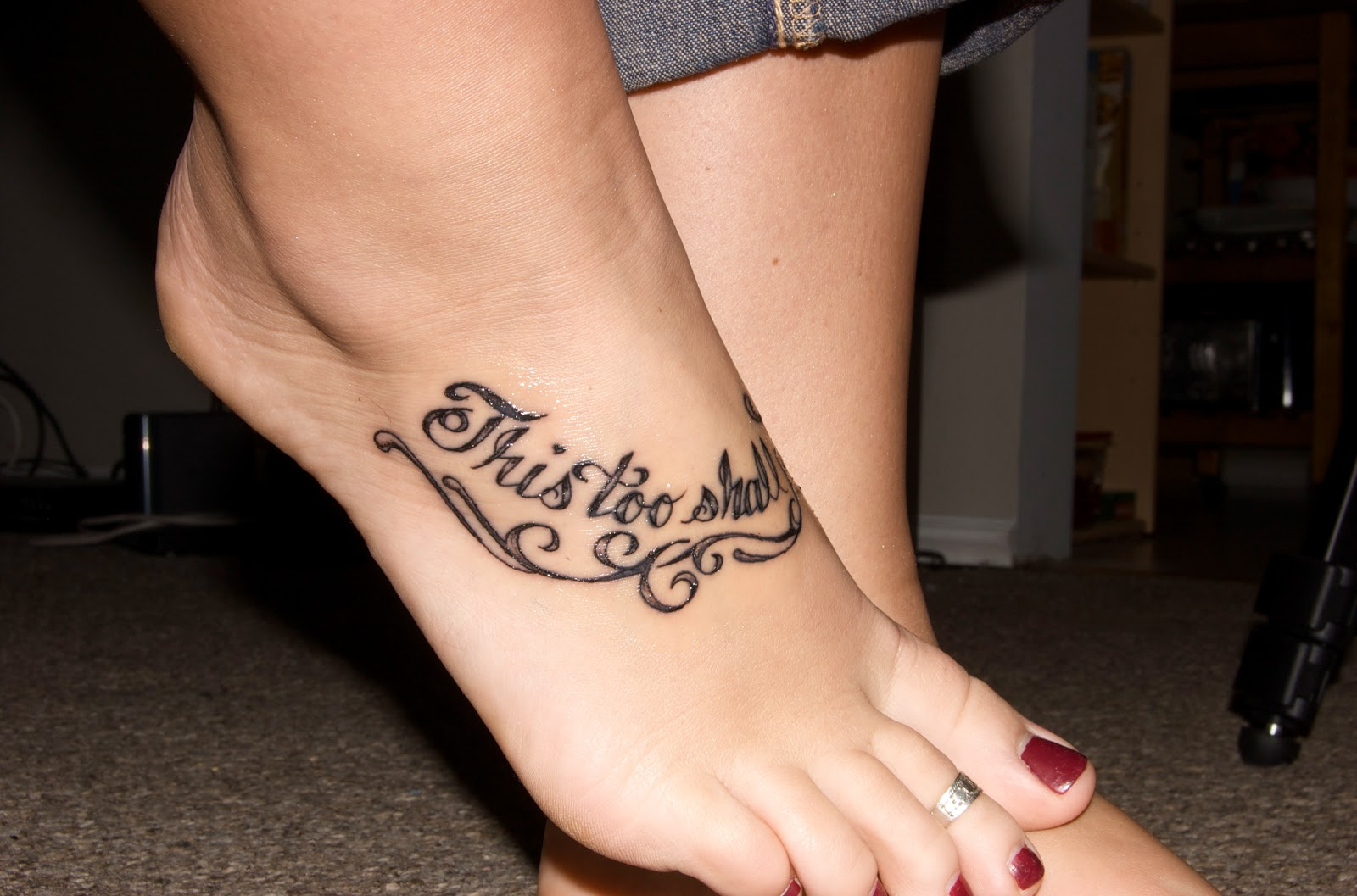 foot tattoos designs for women 5