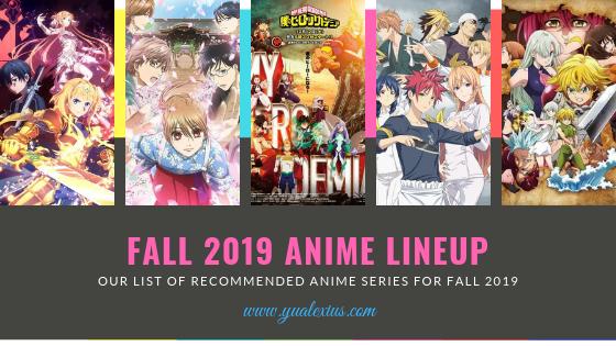 Fall 2019 Anime Season (Sequel Anime Shows)