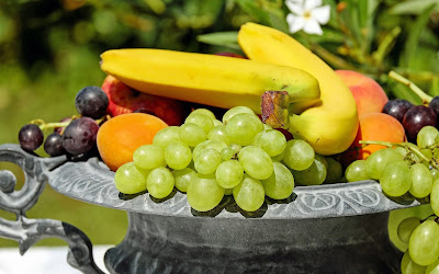 bowl of fruits widescreen hd wallpaper