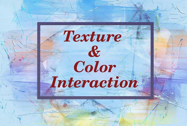 Blue color texture background with multi color stokes