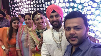 Priya Bathija and DJ Kawaljeet wedding4