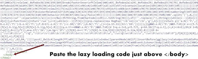 Lazy Loading JavaScript Code