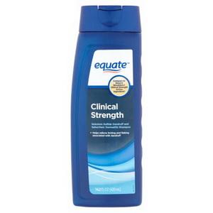 Dầu gội trị gàu và nấm Equate Clinical Strength shampoo hàng xách tay từ Mỹ