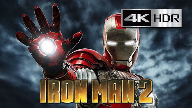 Iron Man 2 (2010) 4K UHD [HDR] Latino – Ingles
