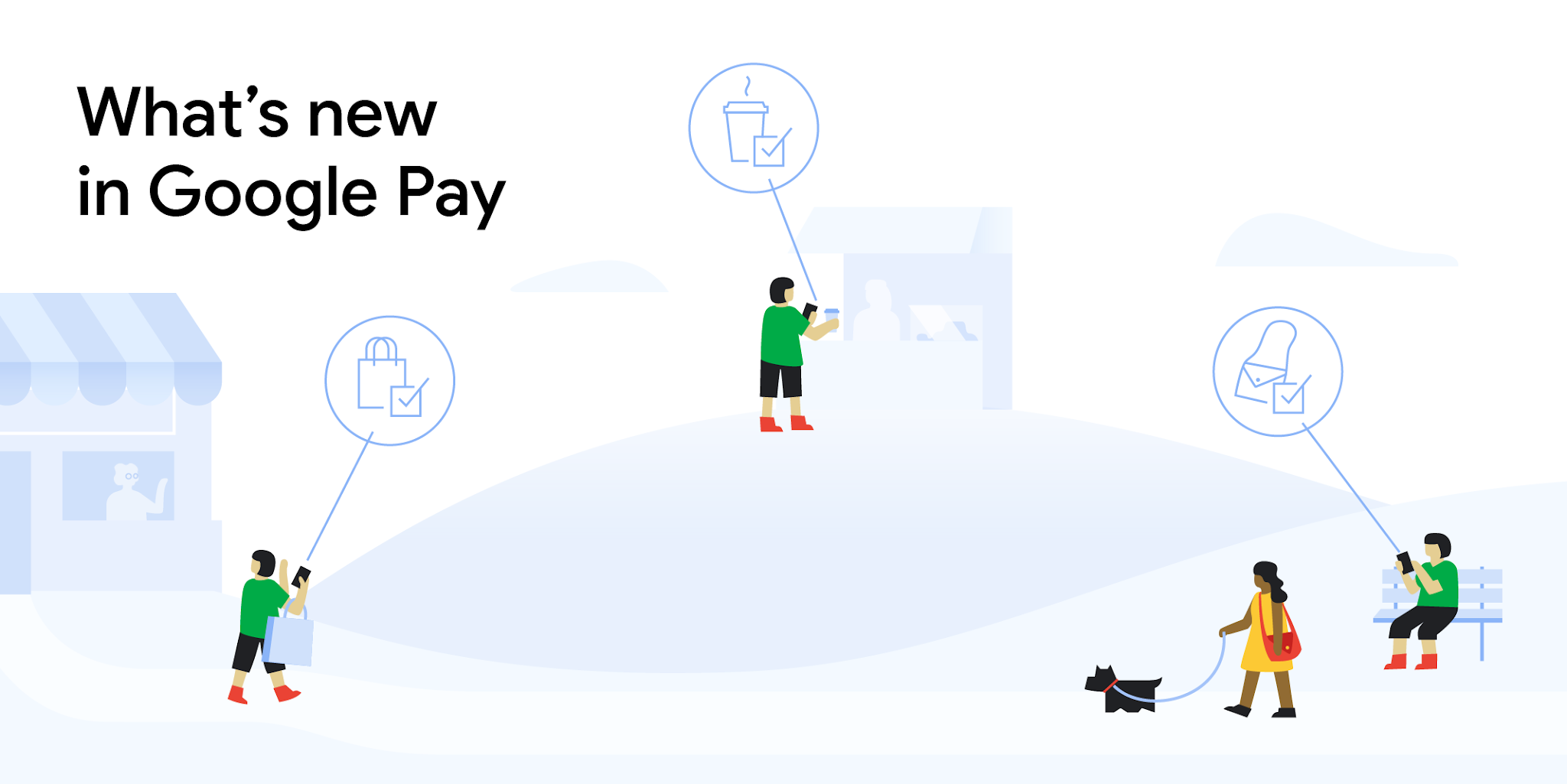 What's new in Google Pay header