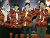Indonesia Meraih 3 Medali Emas dalam International Earth Science Olympiad (IESO) 2018 di Mahidol, Kanchanaburi, Thailand