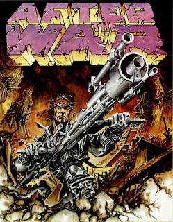 Portada videojuego After the War por Alfonso Azpiri