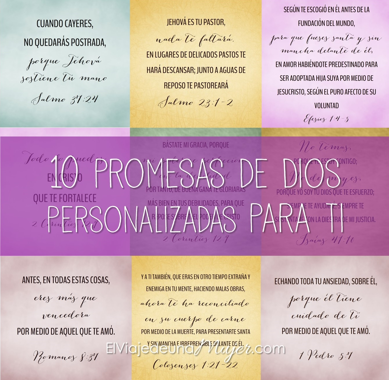 Versiculos Biblicos De Promesas De Dios: Imagenes Las Promesas De Dios Versiculos 10 Promesas De Dios