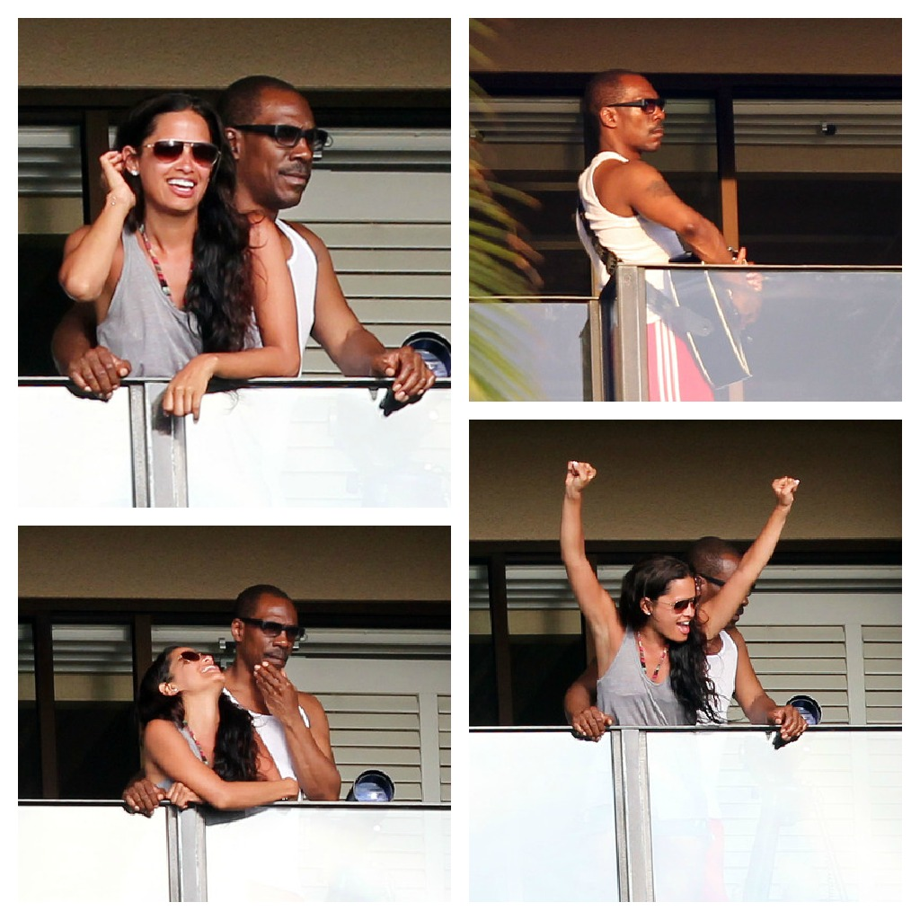 Image: Eddie Murphy and Rocsi Diaz