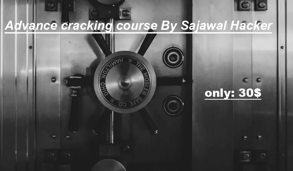 Advance cracking course By Sajawal Hacker