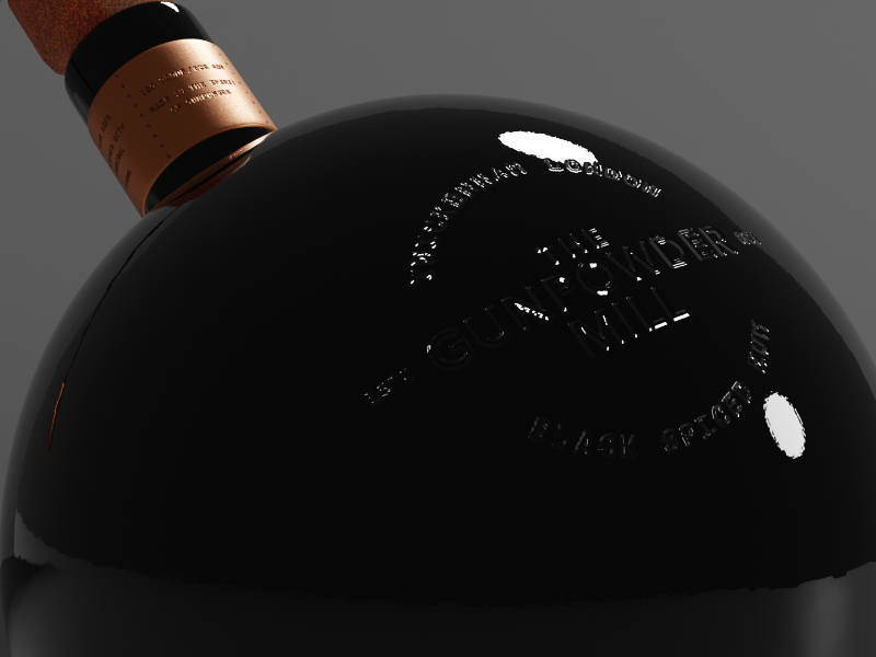 Gunpowder Mill Black Spiced Rum