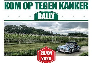 Anglo Parts Kom Op Tegen Kanker Rally 2020