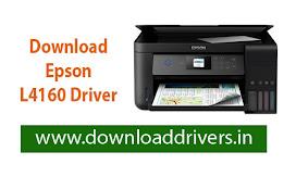 Download Epson L4160 driver