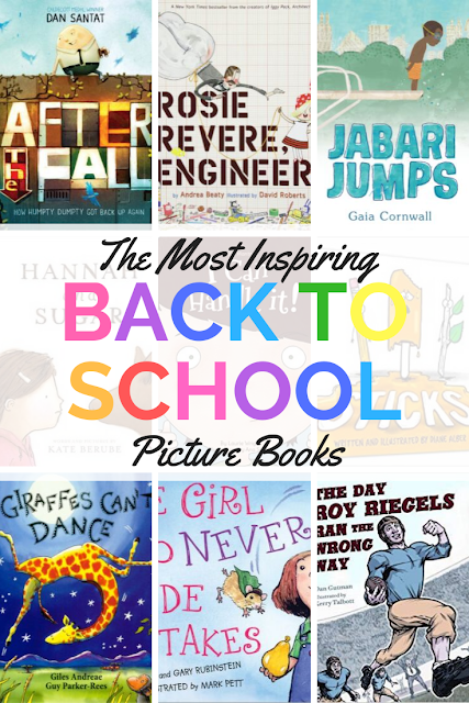 The Most Inspiring Back to School Picture Books to set up your classroom on the right track for the whole year. #picturebooks #classroommanagement #behavior #grit #perseverance #growthmindset