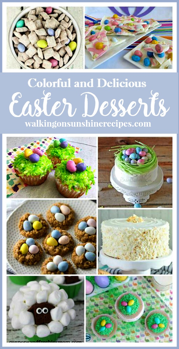 Adorable Easter Dessert | Spring Dessert Recipe from Walking on Sunshine