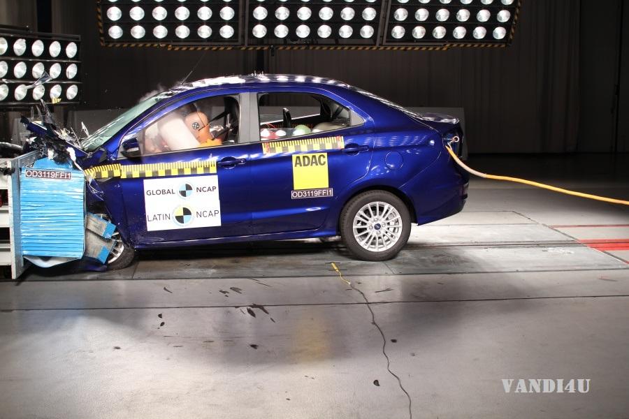 India-made Ford Figo Aspire scores 4-Star Latin NCAP rating | VANDI4U
