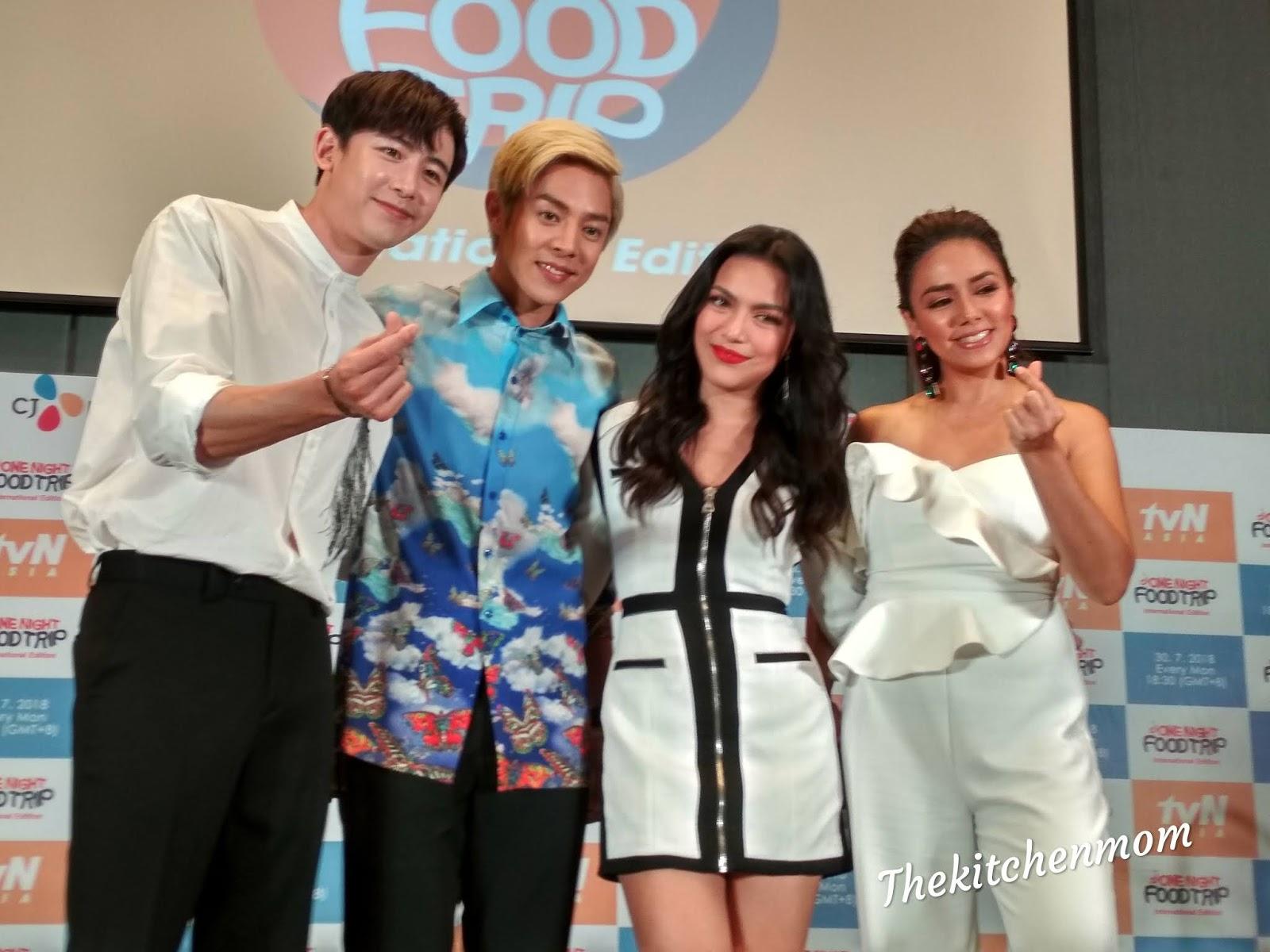 One Night Food Trip Season 2 With K Pop Idols Nichkhun And Alexander Lee