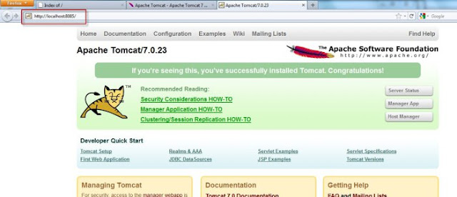 Installing Tomcat 7 and Configuring as Server in NetBeans