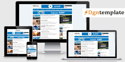 Infinte AMP Responsive Blogger Template | high quality themes