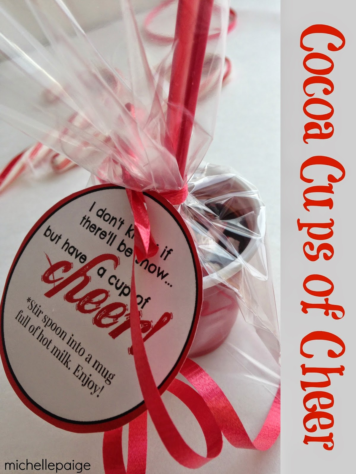 Michelle Paige Blogs Cocoa Cups Of Cheer Gift