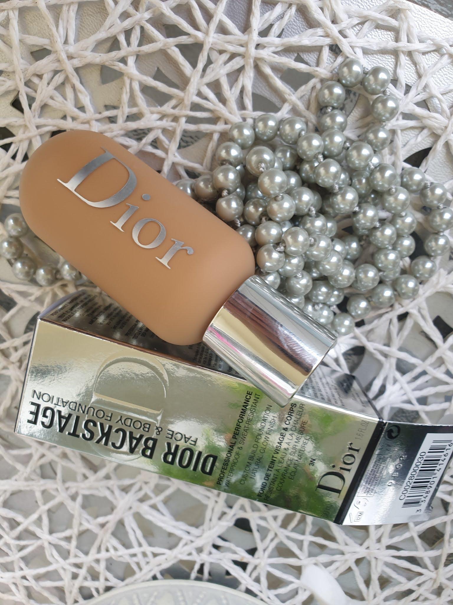Dior beckstage