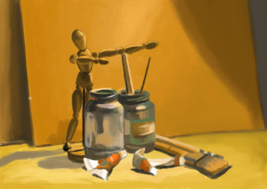 PAINTING FUNDAMENTALS WITH DIGITAL MEDIA