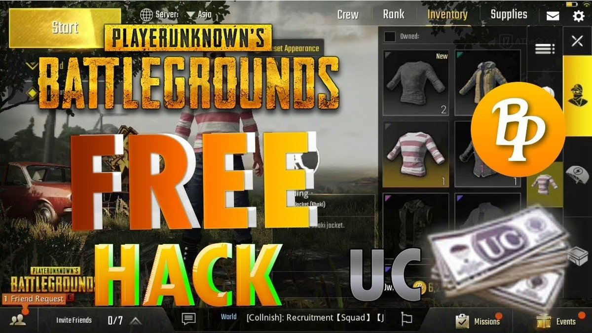 Get PUBG Unlimited UC & BP For Free! 100% Working [December 2020]