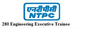 NTPC Engineering Executive Trainee