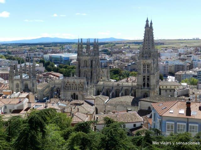Mirador del Castillo, Burgos