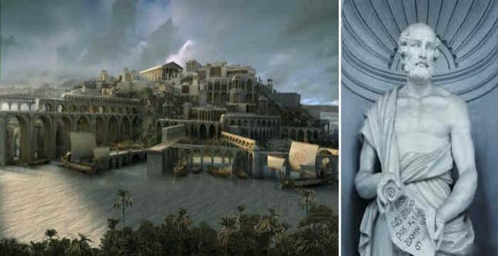 Μία άγνωστη αναφορά στην μυθική Ατλαντίδα από τον Θεόφραστο