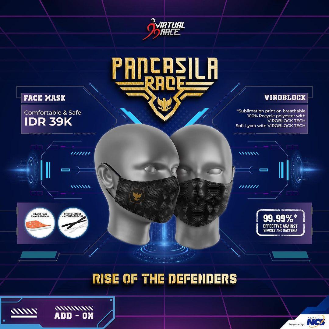 Masker 😷 Pancasila Race - Rise of The Defenders • 2021