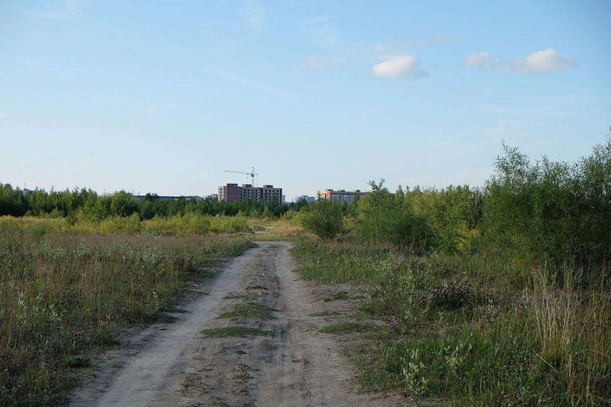 Дорога к улице Героев Североморцев