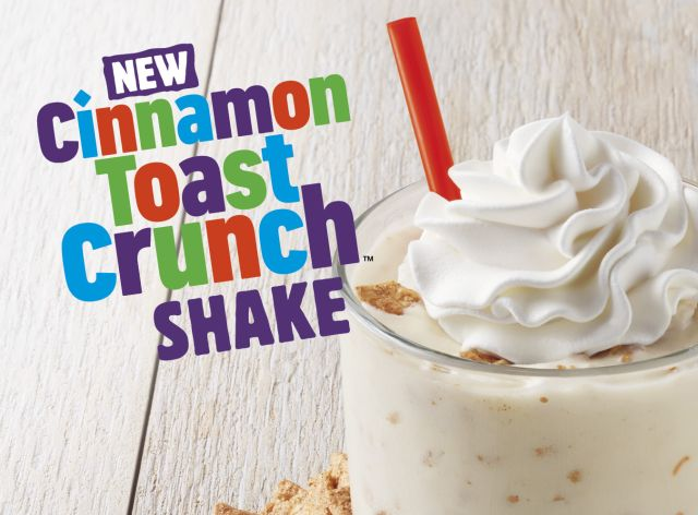 Burger King Introduces New Cinnamon Toast Crunch Shake Brand Eating