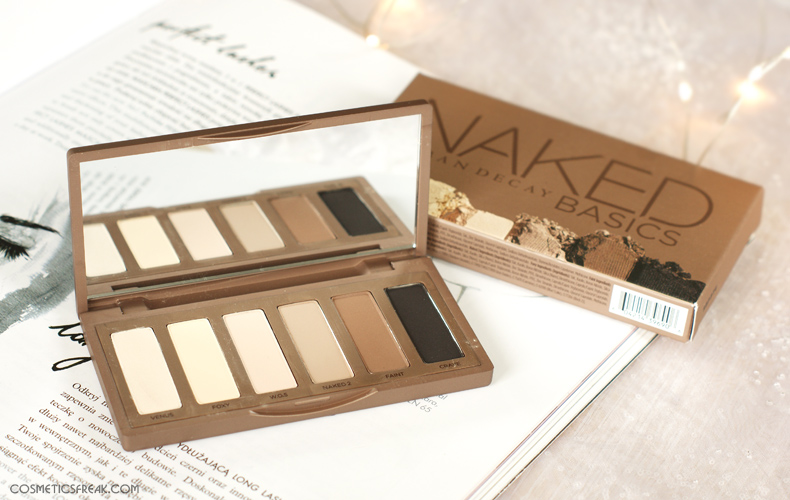URBAN DECAY NAKED BASICS - CZYŻBY PALETA IDEALNA?