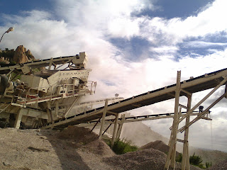 metso, puzzolana, Tarex, Crusher, India, Rock, chain mounted, wheel mounted, second hand, used, for sale, ready