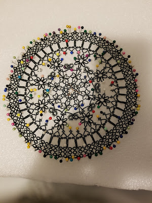 Remember this well its the last one of the three doilies.