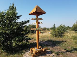 Регіональний ландшафтний парк «Клебан-Бик». Вказівники