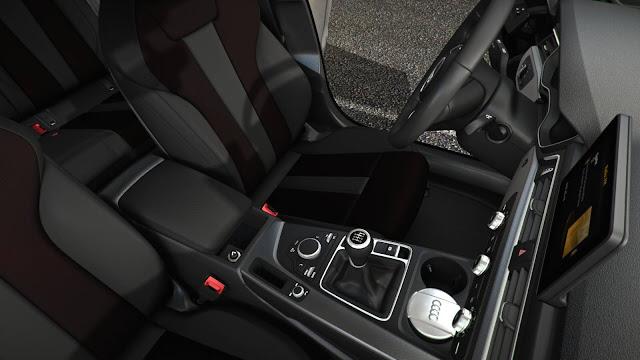 Novo Audi A4 2017 - transmissão manual