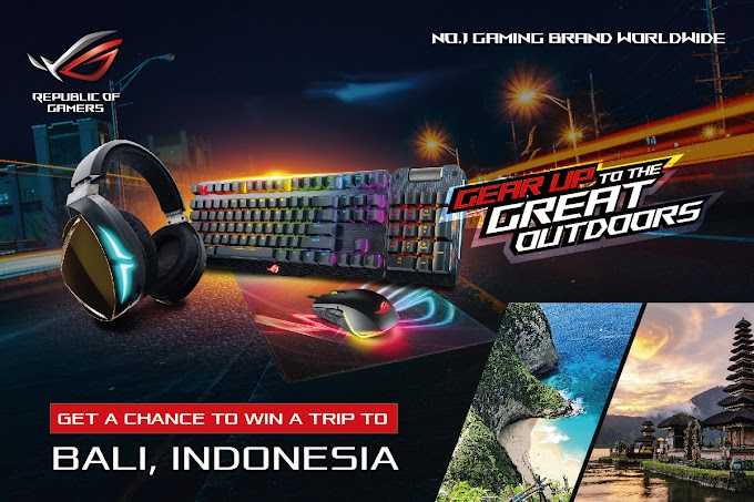 ASUS Republic of Gamers Launches Gear Up To the Great Outdoors Photo Contest