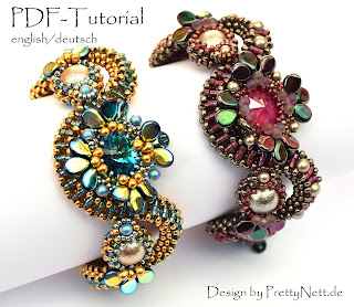 Beaded bracelet design by PrettyNett.de