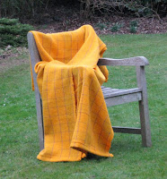 Blanket woven for a Golden Wedding