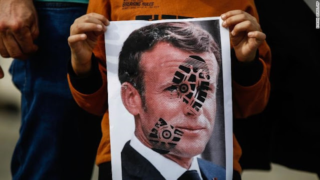 Seruan Boikot Produk Prancis Merebak Pasca Macron Mendukung Kartun Nabi