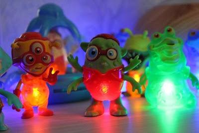 test des figurines lumineuse exogini de giochi preziosi