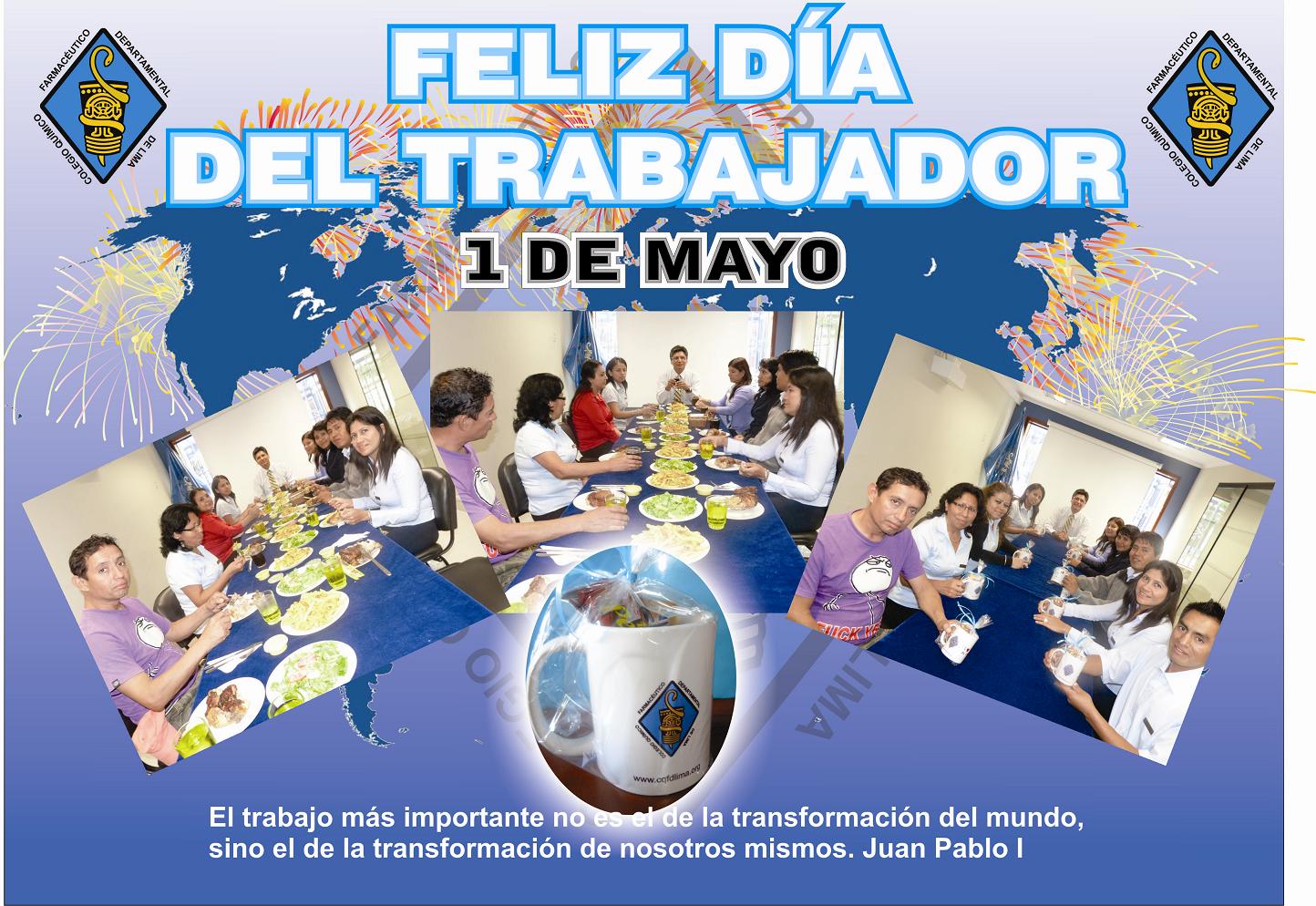 Colegio Quimico Farmaceutico Departamental De Lima Mensaje Por El
