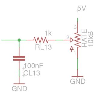 TAPLFO controls schematic