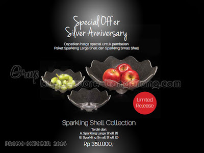 Sparkling Shell Collection ~ Tupperware Promo Oktober 2016