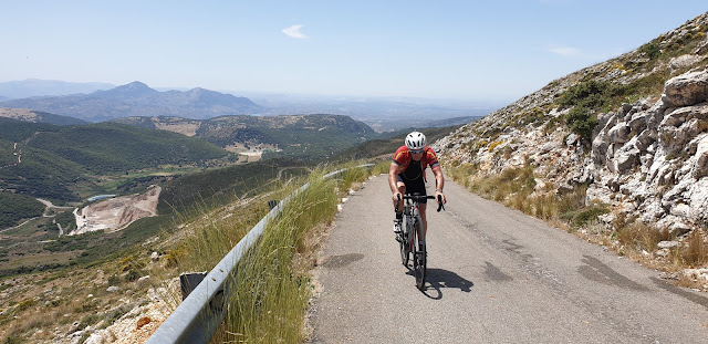 Climb Andalucia's Pandera on your road bike tour