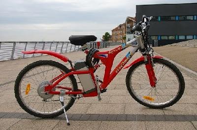 Bicicleta electrica de última generación