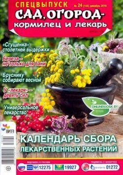 Читать онлайн журнал<br>Сад огород – кормилец и лекарь (спецвыпуск №24 2016)<br>или скачать журнал бесплатно