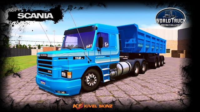 SCANIA T113 - INTERCOOLER AZUL TOP